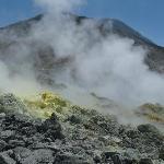 Views from Mt Papandayan Volcano
