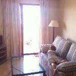sofa cama y salón
