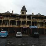 Grand Hotel, even in the rain..