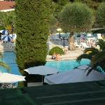 View of Pool from Room 224