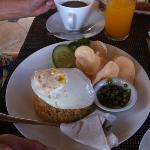 印尼式的早餐