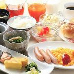 朝食(和洋食バイキングメニュー) 無料