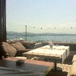 Bosporus and Golden Horn views as you enjoy breakfast on the terrace