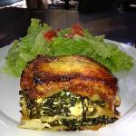 Spinach and Cottage Cheese Lasagne