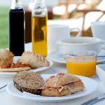 Desayuno con hamacas