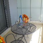 Το μπαλκόνι του δωματίου