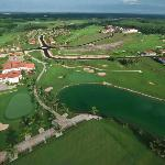 """Bird eyes"" view of La Estancia Golf & Resort"