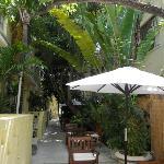 Villa Paradiso courtyard