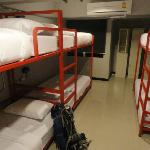 Bunks in dorm, very comfortable!