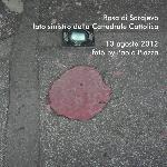 Rosa di Sarajevo - Lato sinistro Cattedrale Cattolica