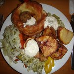 The Carvery meal