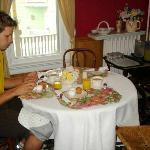 "our ""petite"" breakfast"