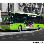 Publicidad en los buses de Vigo