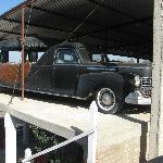 Antiguo coche fenebre Lincoln Continental año 1947 12 c