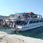 Boat at seaport in Zante