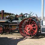 Tractor Case a vapor 1888