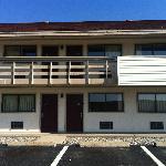 Back building of motel