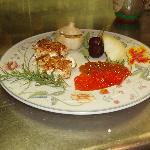 Nut Crusted Goat Cheese