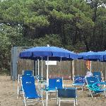 accesso diretto campeggio/spiaggia