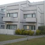 Un des bâtiments de l'hôtel