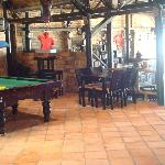 Pool Table in the Restaurant Bar Area