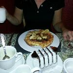 Jane enjoyed the waffles for breakfast