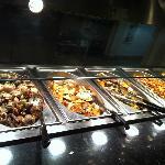 clams, greenshell and tofu dish