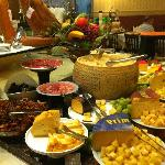 A part of the buffet