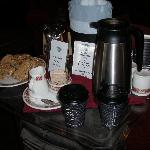 tea-coffee in the lobby