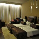 La chambre double avec lits twin