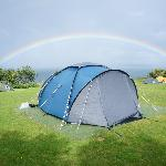 Rainbow over our tent
