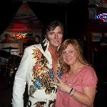 Elvis and Laurie next door at Klub Klondike