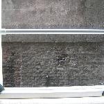 muro a 1 metro dalla finestra