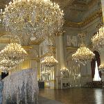 So many chandeliers