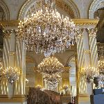 Chandeliers in the Royal Palace