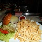 Burger meal, Wolfgang Puck, MGM Grand, Las Vegas