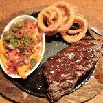 Their 'premium' steak - which didn't taste so 'premium'
