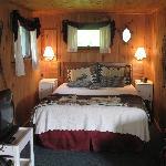 Intérieur cottage 1 - côté lit