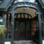 entrance way to inn