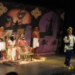 One of the shows at the ampitheartre.