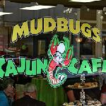 Looking in at Mudbugs on Main Street