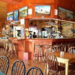 Inside Carr's Oyster Bar
