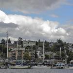 Lovely houseboats along Eastlake