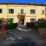 Front of the Villa Poggiano