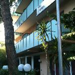esterno hotel delizia Rimini