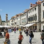 Stradun Pedestrian Street, Dubrovnik, Croatia