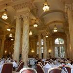 """Salle à manger du restaurant """"la Lorraine"""""""