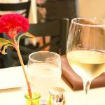 White wine...