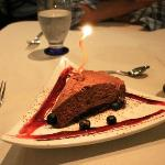 Dessert... Chocolate Mousse.