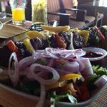 Beef Kebab - cooked to order - nice